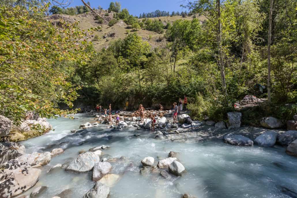 Les Sources chaudes de Combioulaz en Valais, Suisse | Dixence Resort