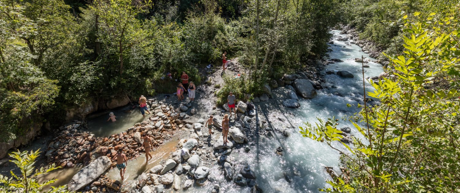 Sources de Combioulaz en Valais | Dixence Resort
