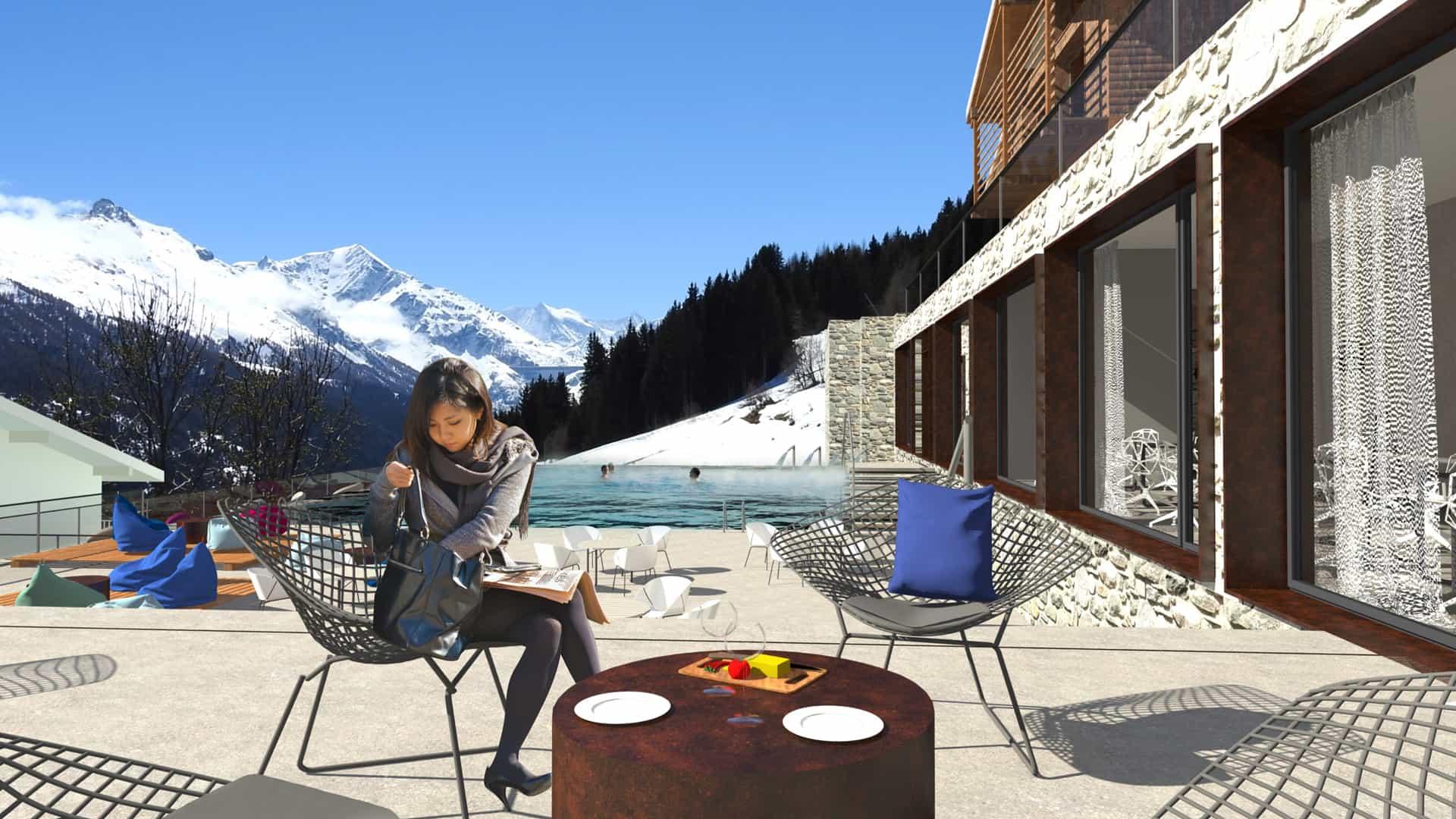 Bains thermaux et Spa en Valais, Suisse | Dixence Resort