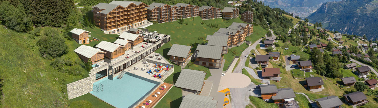 Dixence Resort project in Switzerland