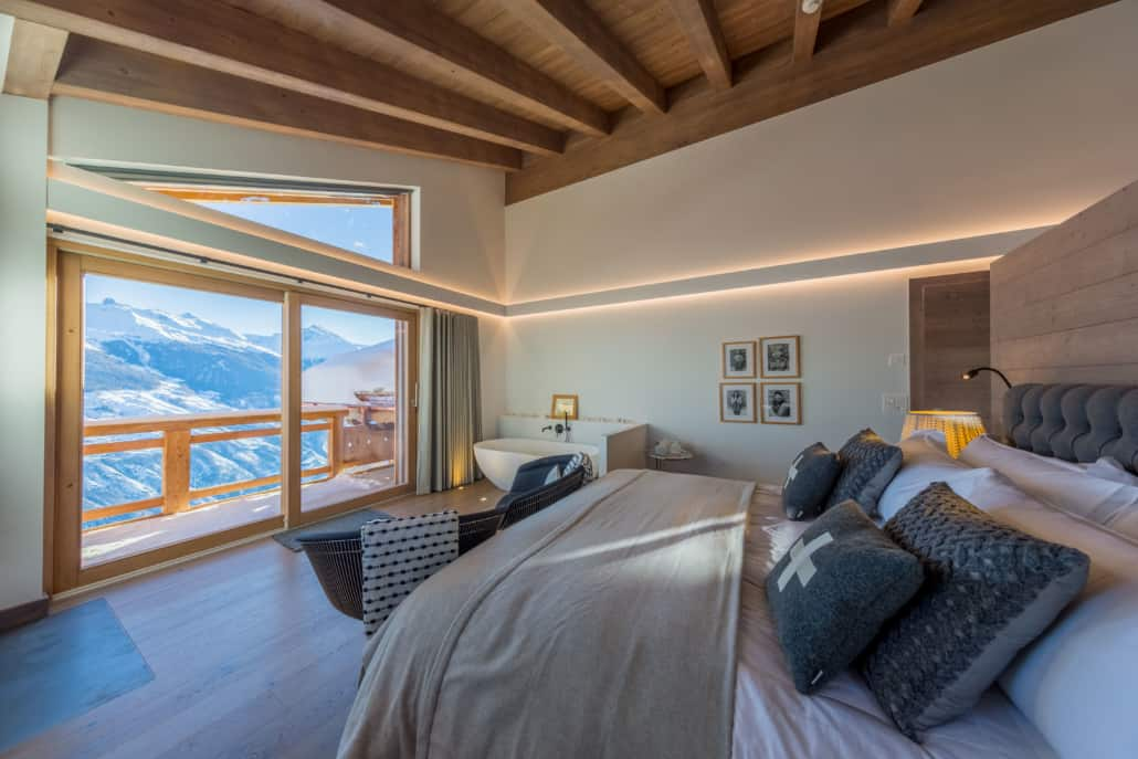 Maquette Chambre | Chalet Dixence Resort à vendre en Valais