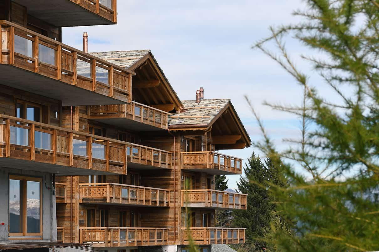 Complexe hôtelier Dixence Resort à Hérémence
