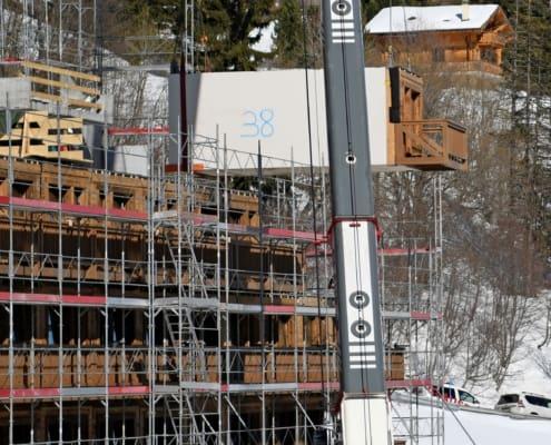 Travaux de construction 2020 Dixence Resort